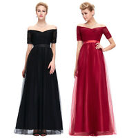 Long Dress Formal Ball Party Prom Evening Bridesmaid Wedding Dresses PLUS SIZE