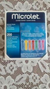 Microlet Lanzetten 200 Stück farbige
