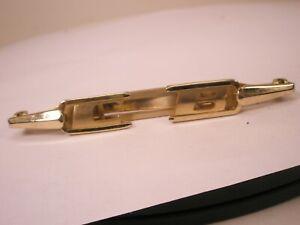 -CB Monogram Initials Letter Name Font Vintage FOLDING ANSON Tie Bar Clip