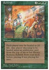 1x Rebirth 4th Edition MtG Magic Green Rare 1 x1 Card Cards