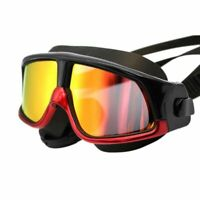 Unisex Swimming Goggles Sports Uv Protection Diver Coating Adjustable Glasses