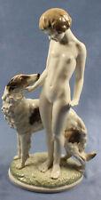 Barsoi Windhund Figur Hund Porzellanfigur Hutschenreuther hundefigur werner us