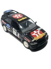 Burago 1/24 Scale Black Ford Escort Rs Cosworth Made in Italy Model Car