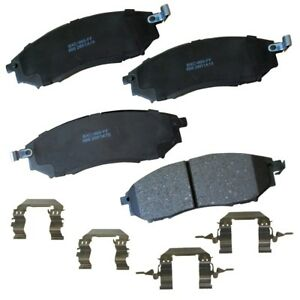 Disc Brake Pad Set-Stop Ceramic Brake Pad Front Bendix SBC888