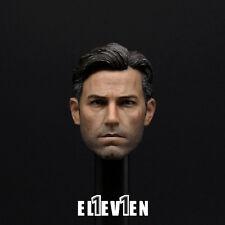 "Eleven 1/6 Batman  Ben Affleck Head Sculpt Model For 12"" Male Action Figure Body"