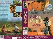 THE WHOLE WIDE WORLD - VHS - PAL - NEW - Never played! - Original Oz release