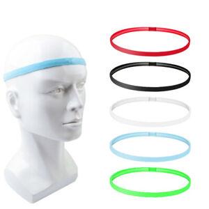 Gym Fitness Headband Elasticated Yoga Pilates Sports Hair Band Anti-Slip Rubber