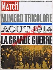 Paris Match n°800 du 08/08/1964 special août 1914 ww1 voiliers course