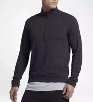 Nike sz S Men's DRI-FIT LIGHTWEIGHT 1/4 ZIP TRAINING Shirt Top NEW 885412 010