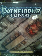 Pathfinder Flip-Mat: Giant Lairs - Pathfinder Roleplaying Game RPG Flipmat