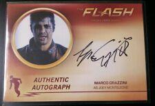 Cryptozoic The Flash Season 2 - Autograph of MARCO GRAZZINI - MG1
