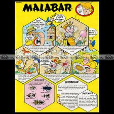 MALABAR Chewing-Gum 'Les abeilles' (1978) : Pub / Publicité / Advert Ad #A1241