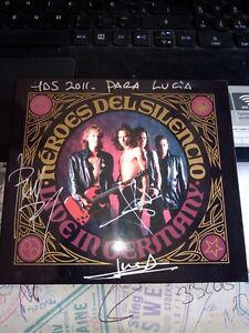 Héroes Del Silencio – LIVE IN GERMANY , CD+DVD,ROCK,FIRMADO,SIGNED