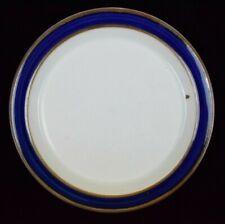 """Dansk China Blue Umber Pattern Salad Plate Speckled Design 8 1/2"""" Diameter"""