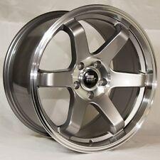 MST MT01 18x9.5 5x114.3 et35 Gunmetal Wheel Rims Fits Mazda 6 Accord Rsx Tsx