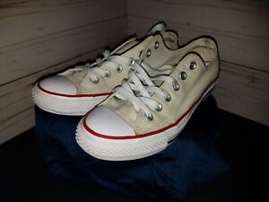 Size 5️⃣⏺️5️⃣ - Converse Chuck Taylor All Star Low Optic White