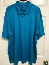 Komatsu Corporation Men Aqua Short Sleeve Golf Polo Shirt 3Xl Port Authority