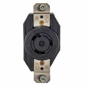 Hubbell Bryant Twist Turn Locking Receptacle NEMA L5-20R Outlet 20A 125V L520RZ