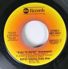 Soul 45 Rufus - Rags To Fufus / You Got The Love On Abc Records