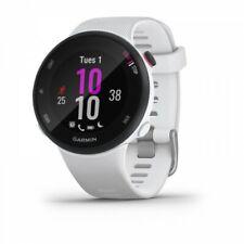 Garmin Forerunner 45S GPS Running Watch White 39mm Case Size 010-02156-00