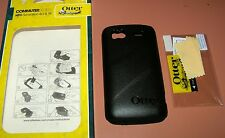 OtterBox Commuter Case HTC Sensation 4G & XE, Black w PET screen protector, NEW