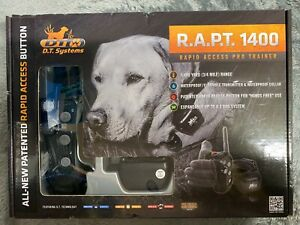 DT Systems Waterproof Rapid Access Pro Trainer Black R.A.P.T. 1400 #2208