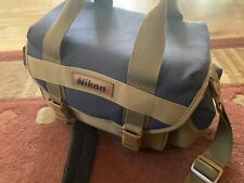 Nikon F60 Film Camera Kit Two Lenses And Case