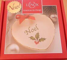 Lenox Holiday Sentiment Heart Dish - Noel