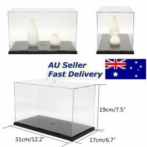 Large Acrylic Display Case Clear Perspex Box Plastic Dustproof Figure