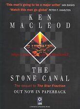 The Stone Canal Ken Macleod Legend 1997 Magazine Advert #7171