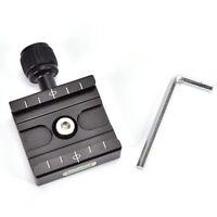 QR-50 Schnellwechselplatte Klemmhalterung Kompatibel für Arca SWISS Tripo wv