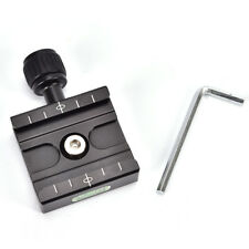 QR-50 Quick Release Plate Clamp Mount Compatible For Arca SWISS Tripod Ball BCM