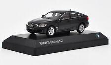 1:43 BMW 3 Series GT Black DieCast Model Collection
