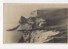 Lulworth Dorset 1929 RP Postcard Seward 489a
