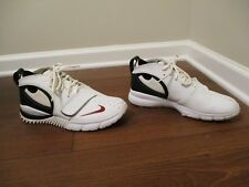 Classic 2006 Used Worn Size 10 Nike Air Trainer Crusader Shoes White Black Red