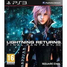 Final Fantasy XIII Lightning Returns Sony Ps3 Game Square Enix PAL 16 058594