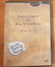 Army of Darkness DVD official bootleg Edition Director Cut NEW FREE SHIPPING