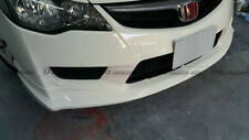 For Honda Civic FD2 JSRacings Front Bumper Splitter Lip Panel Kits Carbon Fiber