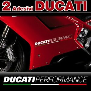 2 Adhesives DUCATI Performance With Flag Tricolour