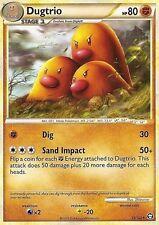 Pokemon HGSS Triumphant Dugtrio 19 102 RARE