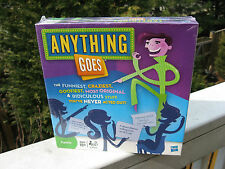 Anything Goes Game - Hasbro 2010 -New & Sealed In The Box!
