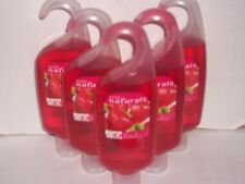 Avon Naturals STRAWBERRY & GUAVA Refreshing Shower Gel 5 fl.oz.   Lot of 5