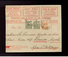 1935 Brazil Medical Asthma Advertising Cover to Angola