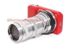 Contax RF lens 2 Sony NEX-3 NEX-5 NEX-C3 NEX-5N NEX-7 NEX-VG10 adapter