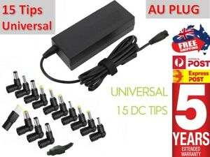 Universal 90W 15V-24V Laptop AC Adapter Power Supply Charger 15 Connector +Wrnty