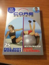 Core Secrets: 25 Minute Full Body Workout/ Accelerated Core Training (DVD) ...pm