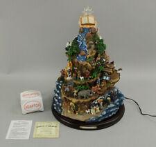 Hawthorne Village Thomas Kinkade Beloved Bible Stories Tree Sculpture w/Coa
