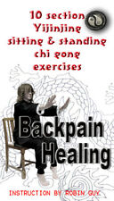 Back Pain Healing Seated Qigong  DVD and PDF Books by guychi