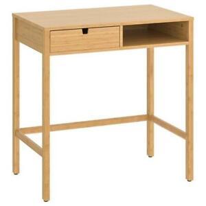 IKEA Vanity, Bamboo 76x47 CM, Desk, Table, Make-Up