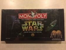 Star Wars Monopoly - Limited Collectors Edition - 20th Anniversary Sealed